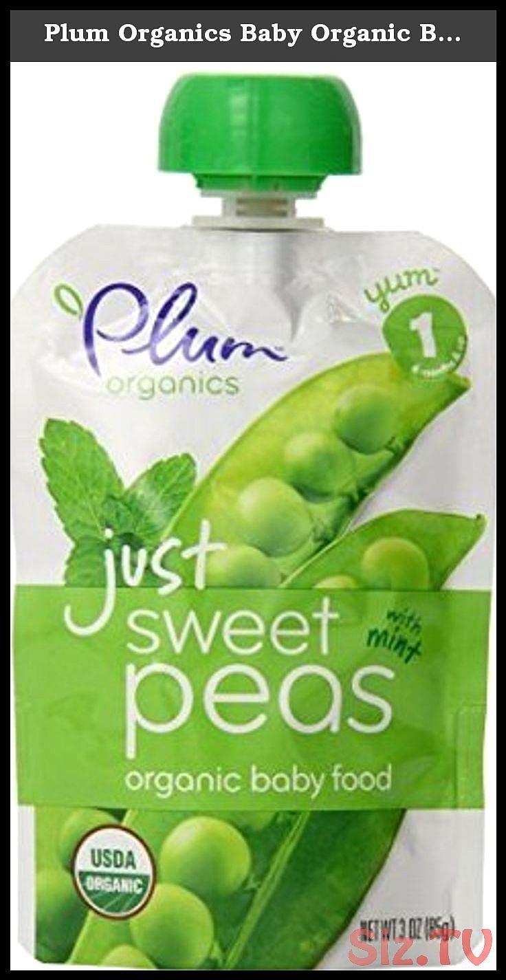 Plum organics baby organic baby food stage 1 just veggie 6