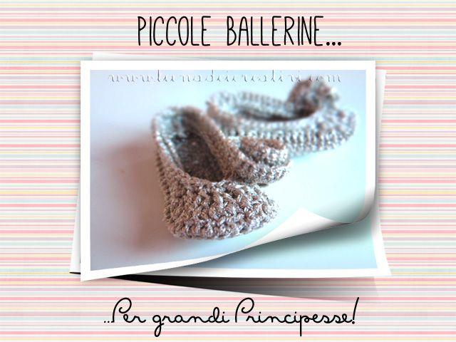 """Ballerine Dorate all'Uncinetto: il Nostro Tutorial per """"Pane, Amore e Creatività""""!"""
