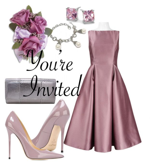 Wedding Guest by shoppe23online on Polyvore featuring Jimmy Choo, women's clothing, women's fashion, women, female, woman, misses, juniors, jimmychoo and CelebrityWedding