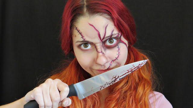 MakeUp Halloween: Chucky - O Boneco Assassino | #Halloweentododia - Little B.