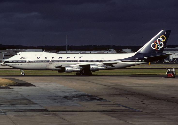 SX-OAD Boeing 747-212B Olympic Airways