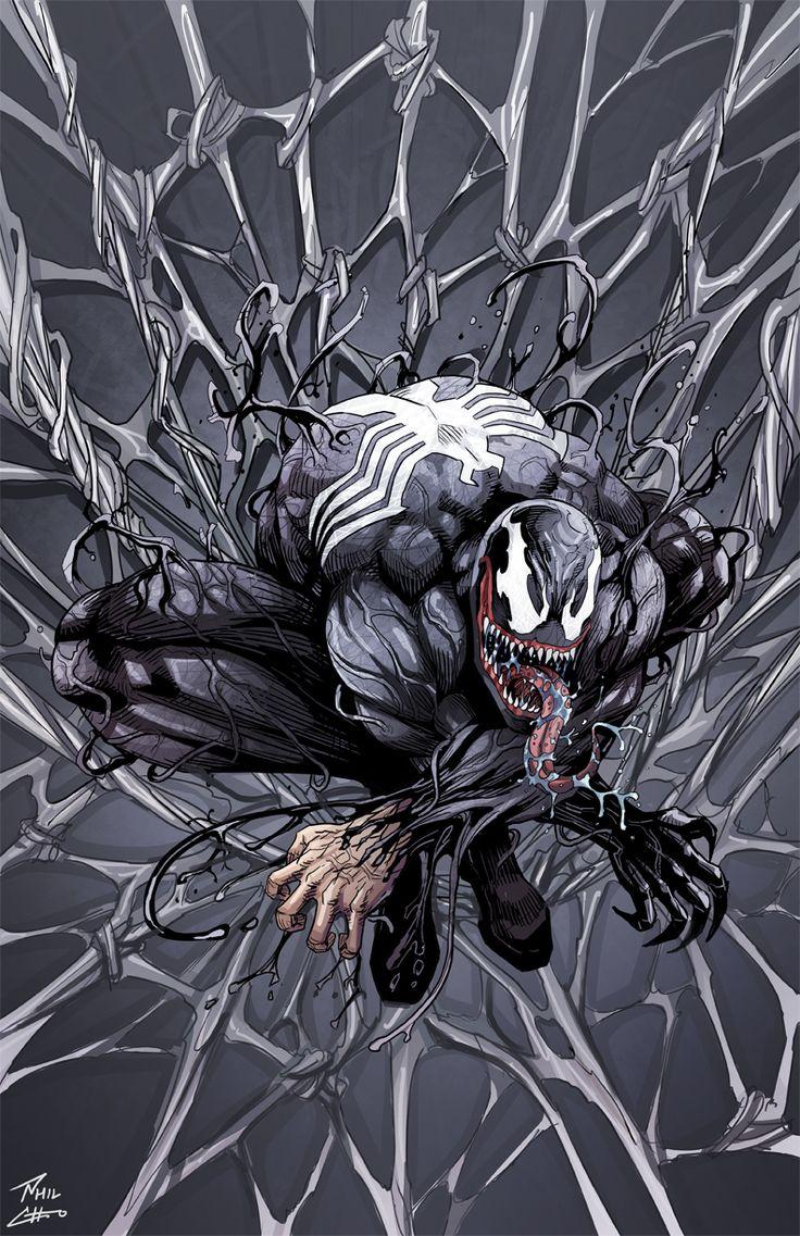 Venom commission by phil-cho on DeviantArt