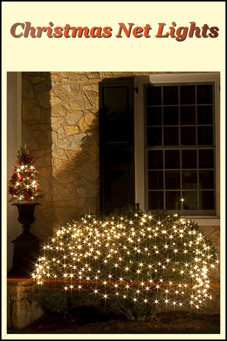 Christmas Net Lights Christmas Decorating Fun Christmas Net Lights Christmas Decorations For The Home Christmas Lights
