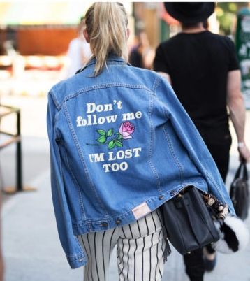 Denim jackets look especially cool when personalized with embroidery, patches or speciality monograms.