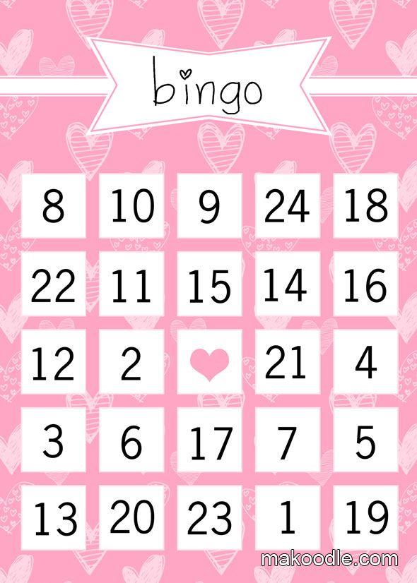 Best 25 Valentine bingo ideas – Free Valentine Bingo Cards