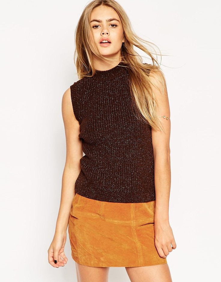 I feel like I've neglected my love of the seventies of late... Until this lurex high neck knit came into my life of course!