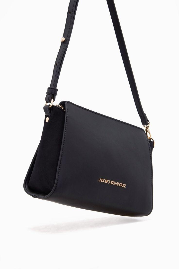 Katherine Eco-Leather Small Shoulder Bag - Belle du Jour | Adolfo Dominguez shop online