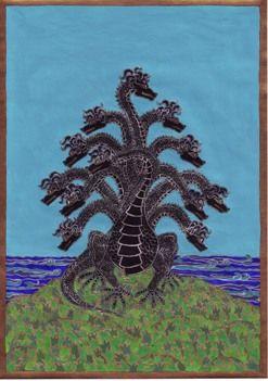 Sárkánykút. Skorpió Mars szimbóluma, egy különös álom alapján. 2006 augusztus.