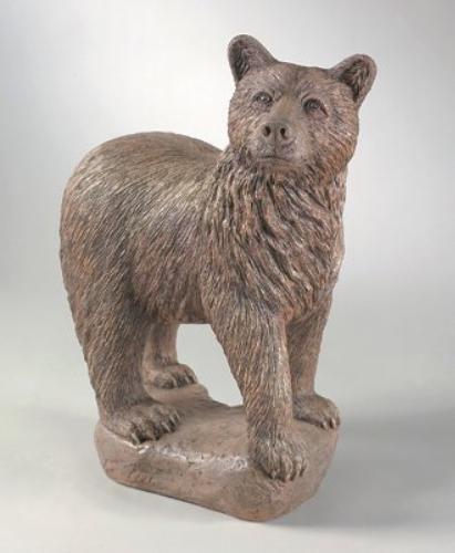 Bear Standing Garden Cement Statue