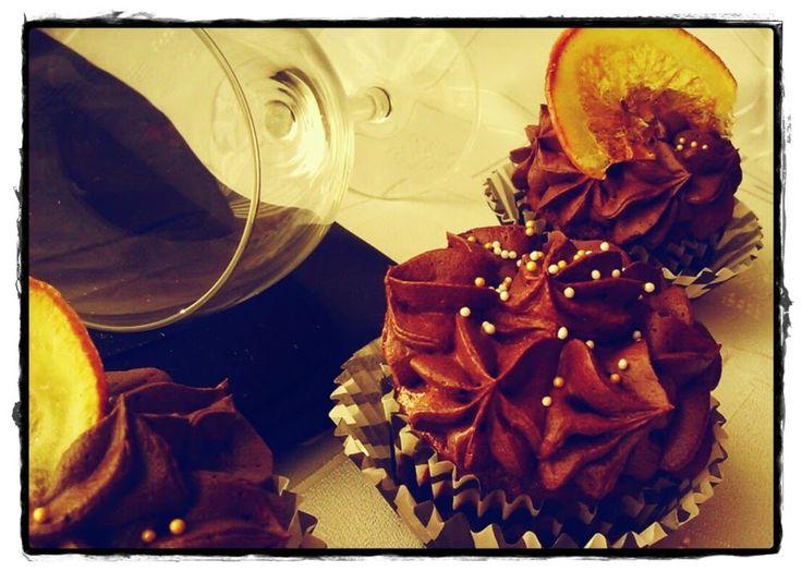 SŁODKIE ZAMIESZANIE: Piernikowe cupcake's