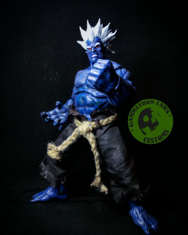 Oni (Street Fighter) Custom Action Figure
