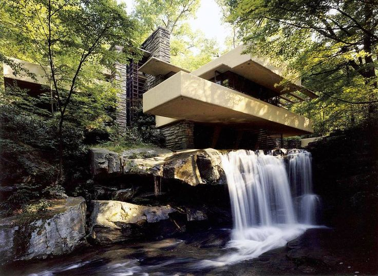 Frank Lloyd Wright's Architectural Masterpiece: Falling Water