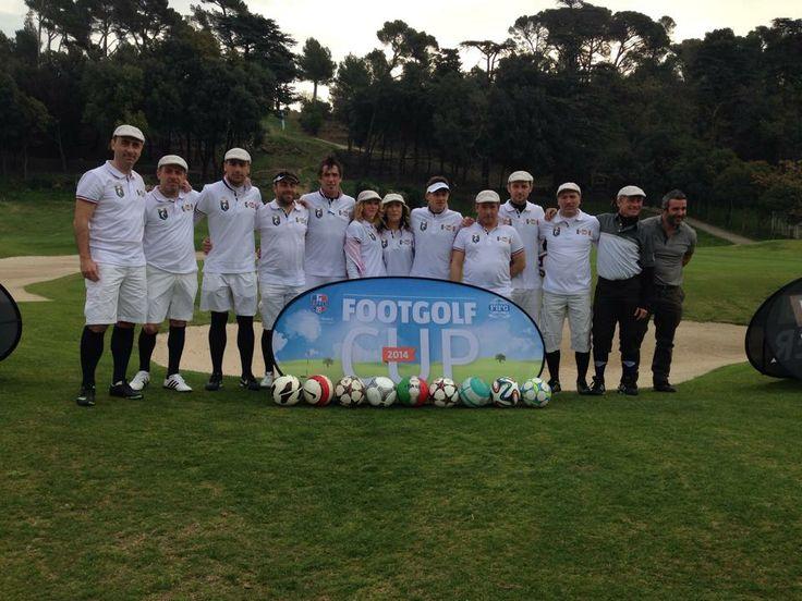 La Nazionale Italiana di #Footgolf che ha battuto la Francia a Marsiglia! @Federazione Italiana FootGolf