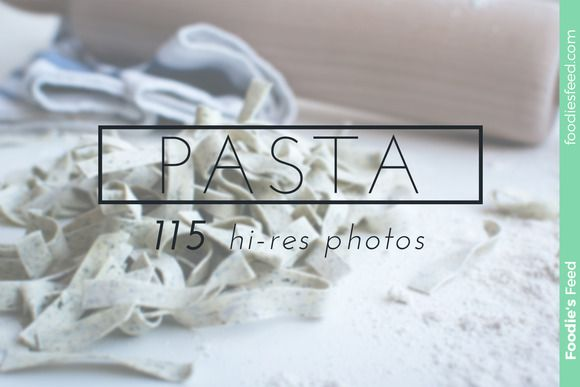 Check out PASTA - Premium Photo Package by Foodie's Feed on Creative Market