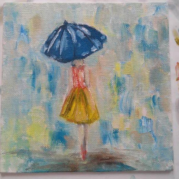 #масло #холст #artist #art #artwork #художник #дождь #rain