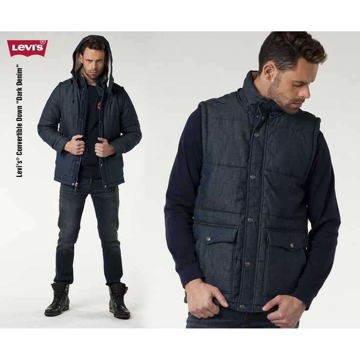 #jeansstore #fallwinter14 #fall #winter #autumn #autumnwinter14 #onlinestore #online #store #shopnow #shop #fashion #mencollection #2w1 #2in1 #sale #jacket #leviscollection #levis #dark #denim #convertible #vest #standardfit