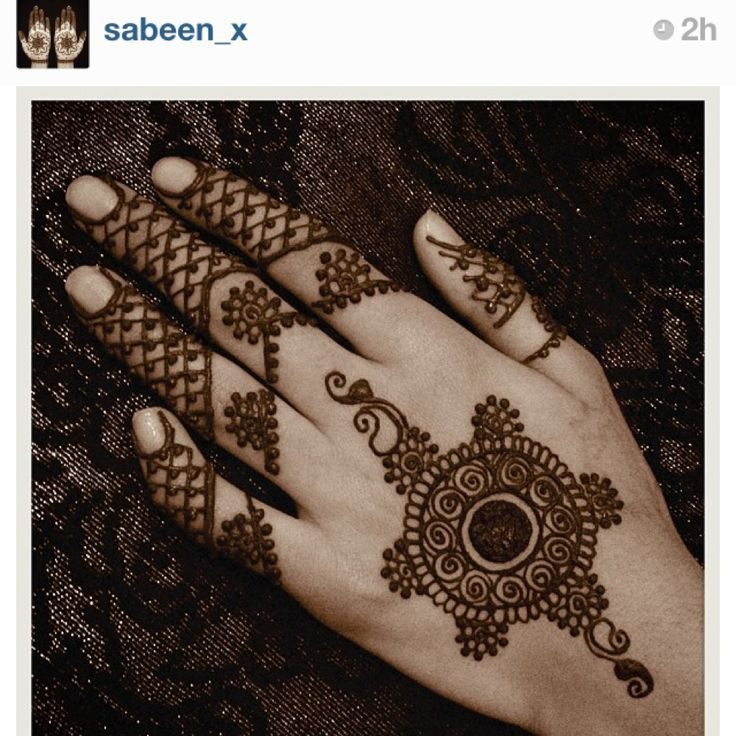 I like the motif, and would prefer filling that space towards the top of the palm | simple, yet very pretty mehendi design