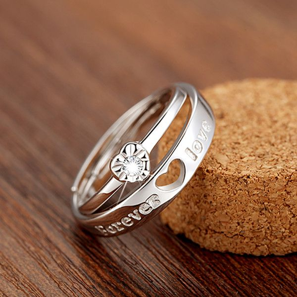213 best 2017 Matching Couple Promise Rings and Necklaces ...