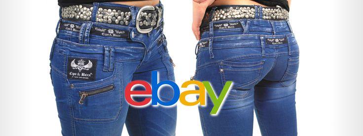 Jetzt NEU bei EBAY! Cipo & Baxx Damen Jeans mit dreifach Bund: www.ebay.de/itm/Cipo-Baxx-Damen-Jeans-CBW-282-Slim-Fit-Destroyed-Look-mit-dreifachem-Bundknop-/161622382406 Viel Spaß beim Shoppen Die Stylefabrik