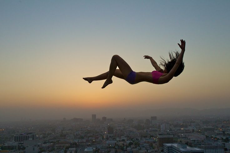 girl falling from sky - Google Search