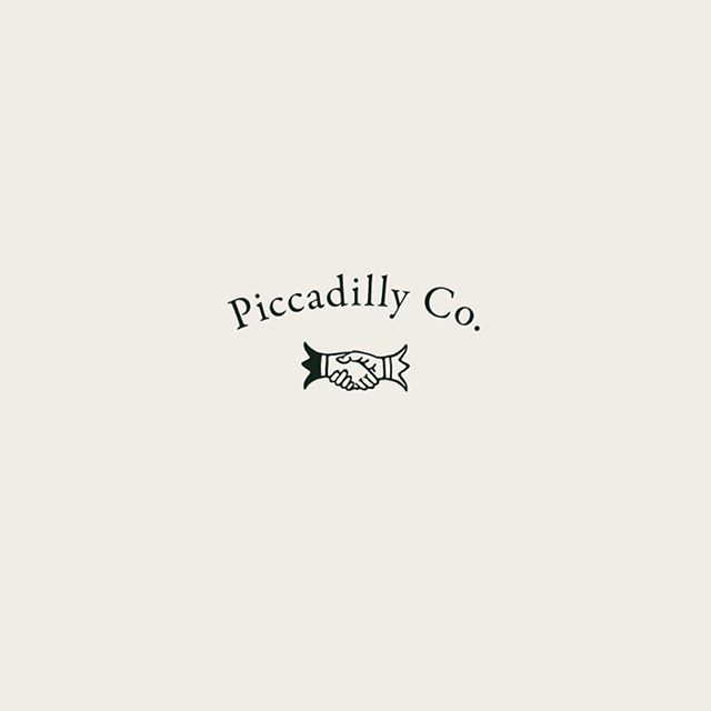 Piccadilly Co logo concept by Little Trailer Studio.