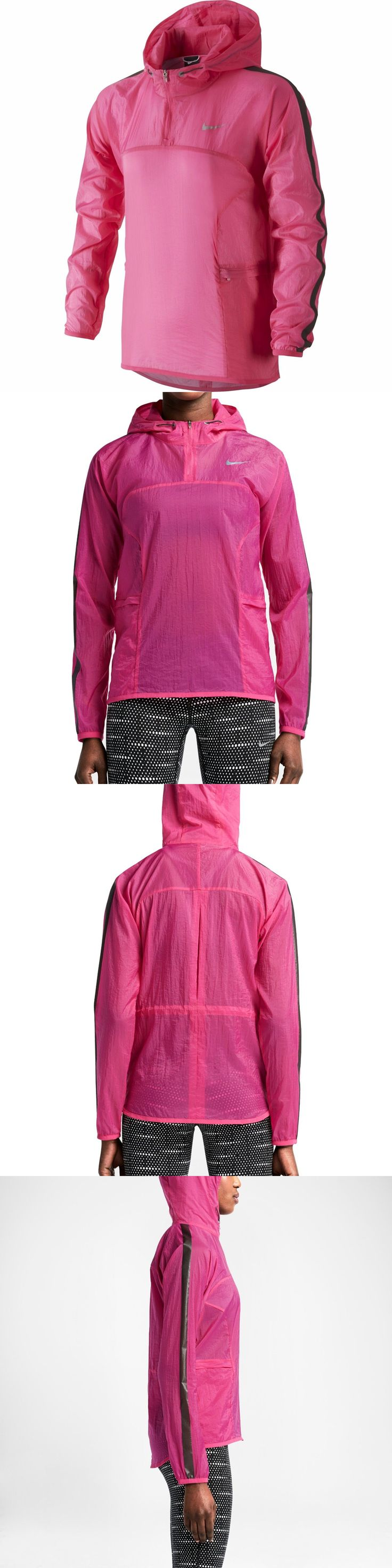 Jackets and Vests 59285: Nike Transparent Woven Women S Running Jacket $130 -> BUY IT NOW ONLY: $69.95 on eBay!