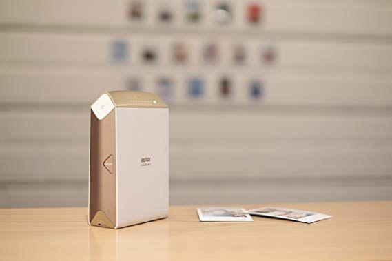 Amazon Com Fujifilm Instax Share Sp 2 Smart Phone Printer Gold