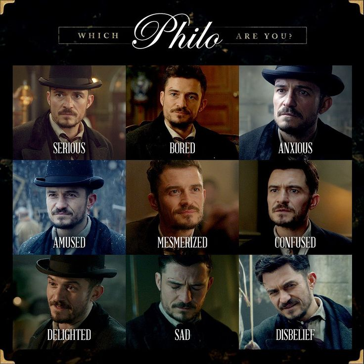 Which Philo do you identify with today? CarnivalRow