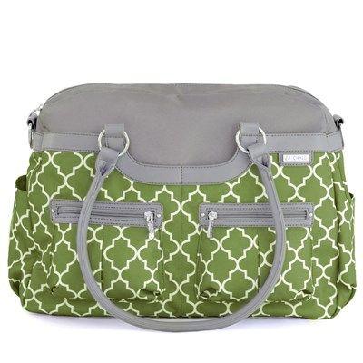JJ Cole Diaper Bag Satchel Aspen Arbor