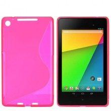 Forro Nexus 7 2013 - Sline Fucsia  Bs.F. 62,99