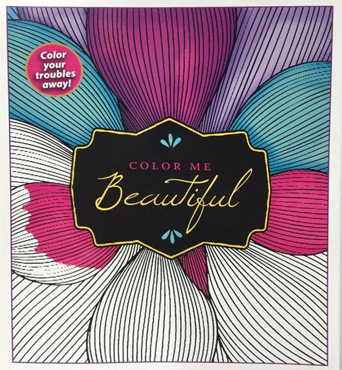Color Me Beautiful Coloring Book
