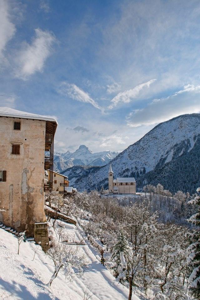 Chiesa di San Martino Valle di Cadore Belluno Dolomiti Veneto Italia