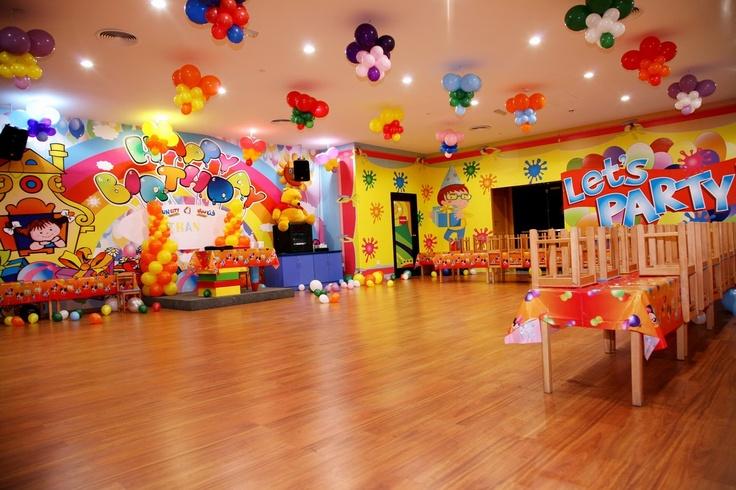 birthday hall decoration My Web Value