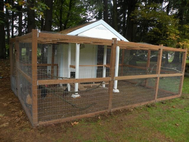 Free range chicken coop plans woodworking projects plans for Chicken coop ideas