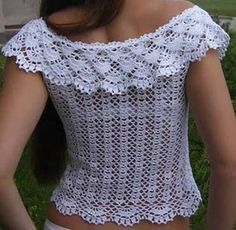 Free Crochet Pattern Blouse | Crochet Hooks and Yarn                                                                                                                                                                                 Mehr