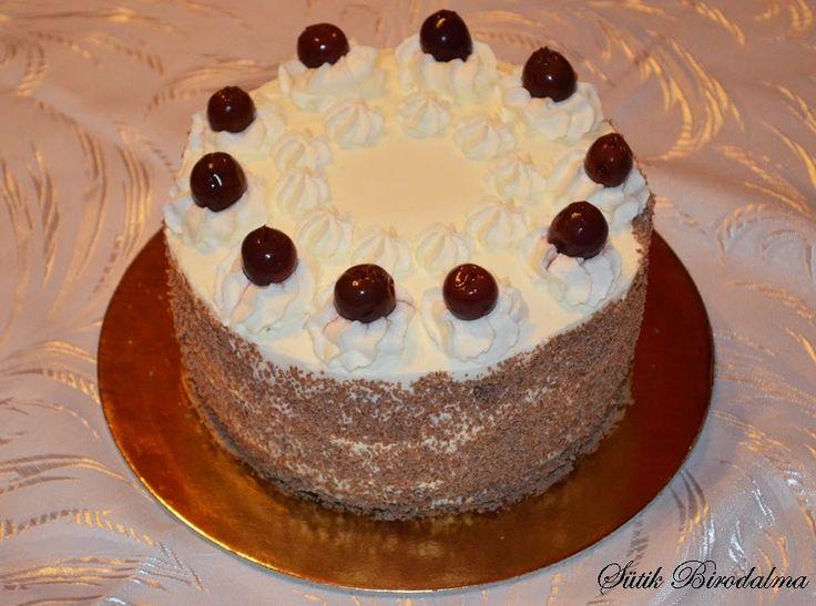 Szintén szülinapra készítettem a Mozart tortával együtt. Erre is azt mondták, hogy nagyon finom volt, és egyből el is fogyott!:) Ha 26...