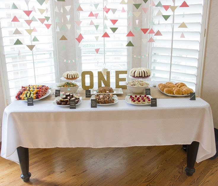 25+ Best Ideas About First Birthday Brunch On Pinterest
