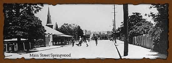 Springwood Street Scape