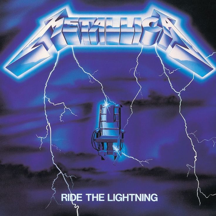 Metallica - Ride The Lightning on LP