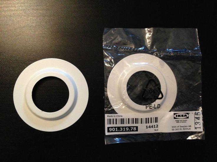Ikea Lamp Shade Light Fitting White Metal Reducer Ring