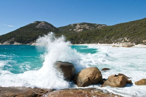 Albany Beaches - Little Beach in the Two Peoples Bay Nature Reserve, east of Albany, Western Australia