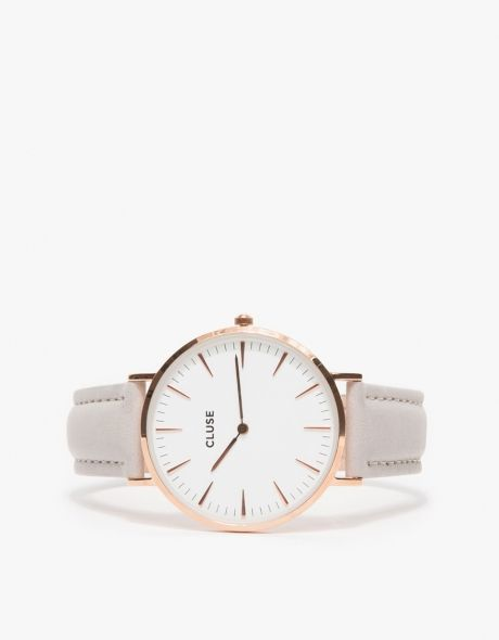 Need Supply Co. CLUSE La Bohème Rose Gold White/Grey $99