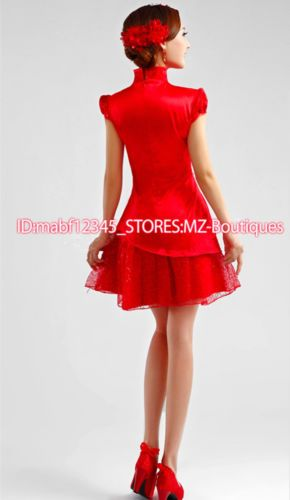 F189Z-Chinese-Cheongsam-Formal-Evening-Prom-Party-Mermaid-Dress-Ball-Gown-skirt