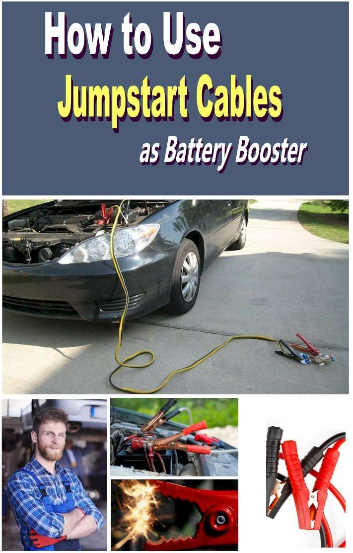 Safety Reminders When Using Jumper Cables As Battery Booster Why Do Car Batteries Die How Do You Know When To Use A Jumper Cab Car Care Tips Booster Car Care