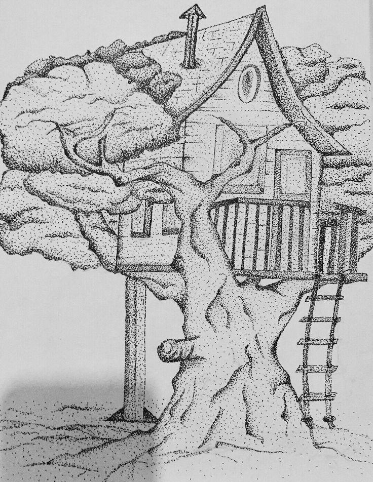 Secret tree house