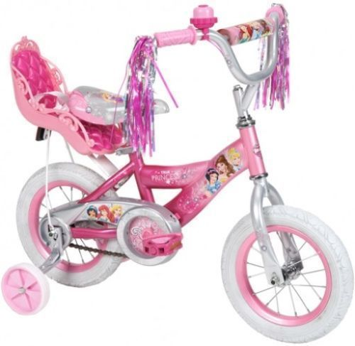 Disney Princess 12 Girls Pink Bike With Doll Carrier, By Huffy #Huffy
