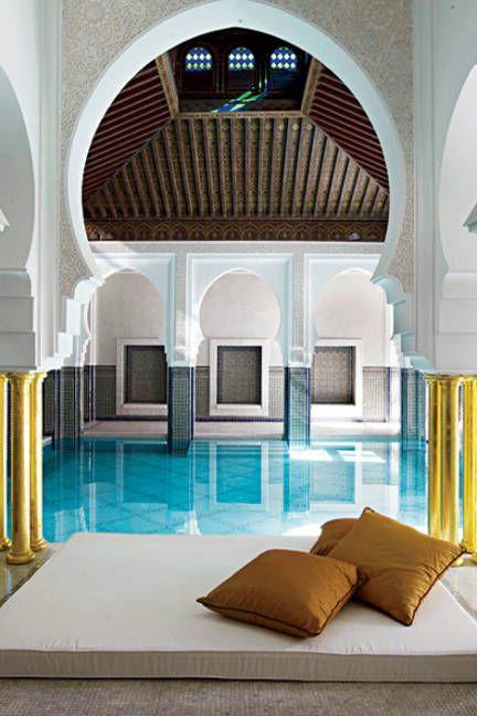 La Mamounia hotel in Marroko. https://www.hotelkamerveiling.nl/hotels/marokko.html #marroko #hotel #luxe