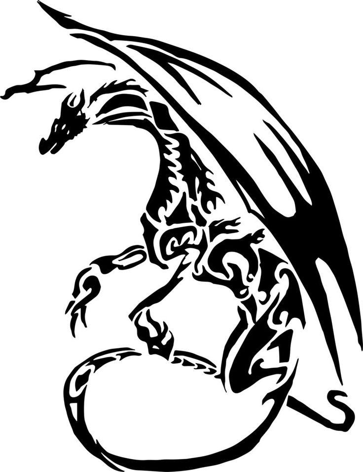 Картинки с драконами эскизы для тату