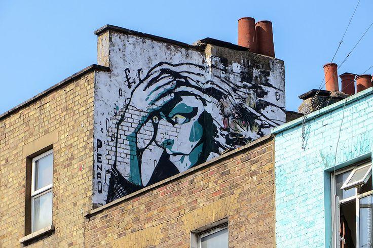 Стрит-арт и граффити твоего города