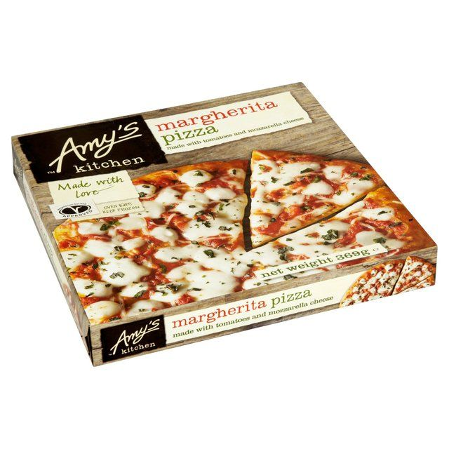 Кухня Эми Маргарита Пицца замороженная 369g из супермаркета